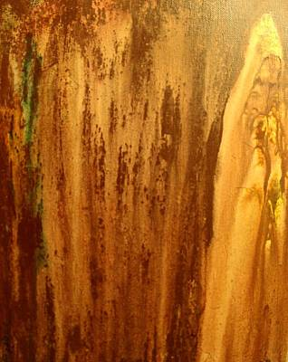 Badass Painting - The Monk by Dawn Pascale