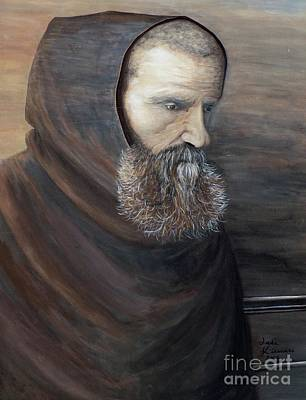 Painting - The Monk by Judy Kirouac
