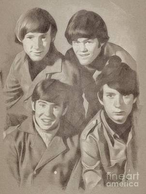Valentines Day - The Monkees by Esoterica Art Agency