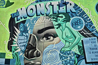 Photograph - The Monster Within by Joan Reese