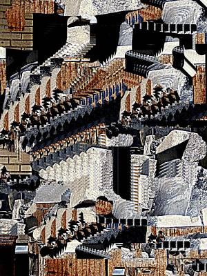 Digital Art - The Monument by Nancy Kane Chapman