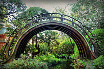 Photograph - The Moon Bridge by Hanny Heim