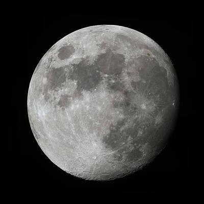 Photograph - The Moon by David Watkins