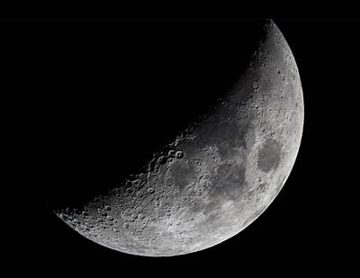 Photograph - The Moon by Rick Berk