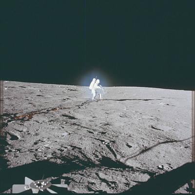 Gravity Pyrography - The Moon Walk by Artistic Panda