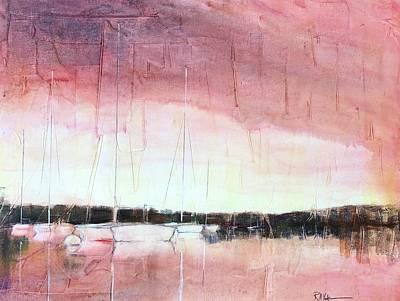 Scot Painting - The Moorings by Robert Yonke