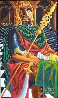Painting - The Moorish General  Othello by David G Wilson