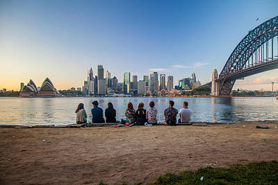Sydney Skyline Photograph - The Morning After by Az Jackson