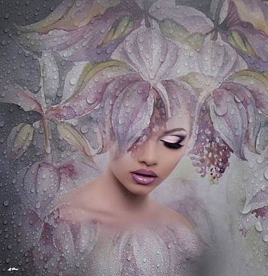 Erotica Mixed Media - The Morning Dew by G Berry
