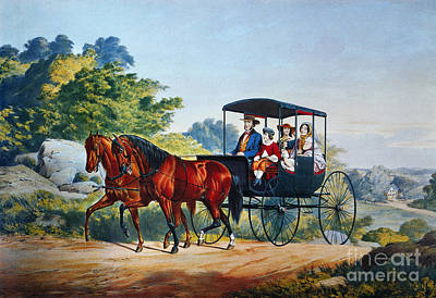 Painting - The Morning Ride, 1859 by Granger