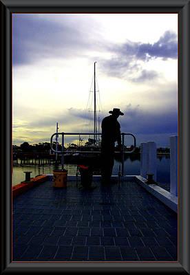 The Morning Wait. Art Print by James  Dierker