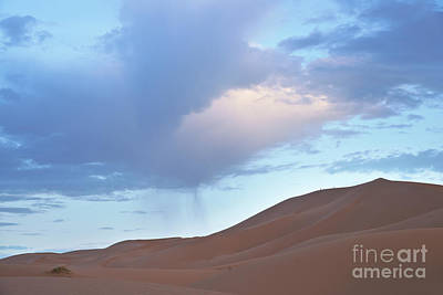 Art Print featuring the photograph The Moroccan Dunes by Yuri Santin