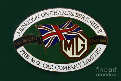 Photograph - The Morris Garages by Olga Hamilton