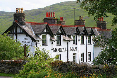 Photograph - The Mortal Man Inn by Fran West
