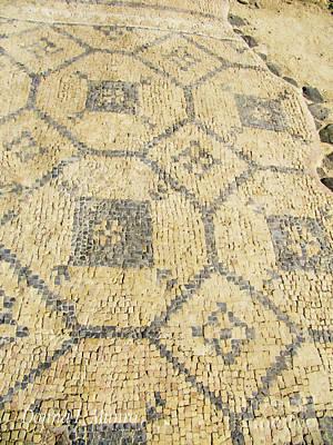 Digital Art - The Mosaic Floor by Donna L Munro