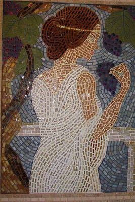 Glass Art - The Mosaic Muse by Robin Miklatek