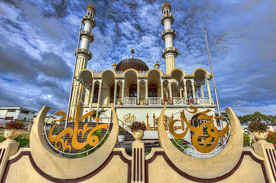 Photograph - The Mosque by Nadia Sanowar