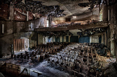 Asylum Photograph - The Mosquito Theatre by David Van Bael