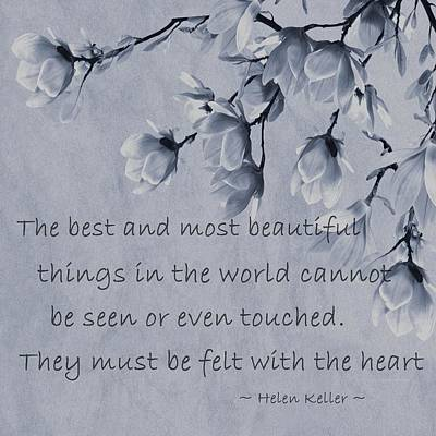 The Most Beautiful Things In The World Art Print