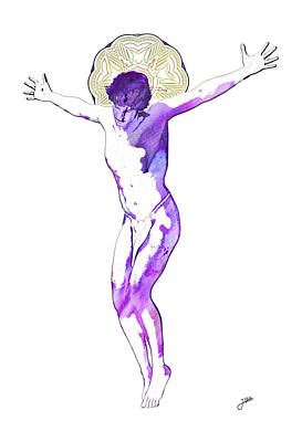 Crucify Digital Art Digital Art - The Most Desired Man Of All Time by Joaquin Abella
