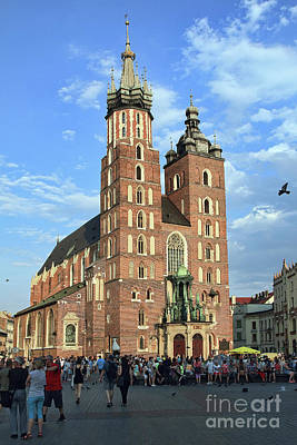 Photograph - The Most Famous Church In Cracow by Teresa Zieba