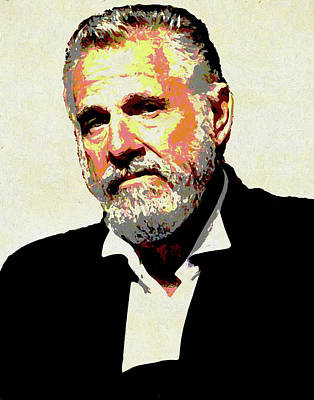 Painting - The Most Interesting Man by Dan Sproul