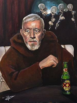 Painting - The Most Interesting Man In The Galaxy by Tom Carlton