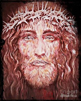 Painting - The Most Loved Jesus Christ by AmaS Art