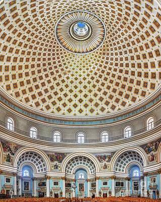 Photograph - The Mosta Dome Church by Stephan Grixti
