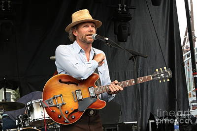 Photograph - The Mother Hips Tim Bluhm  by Concert Photos