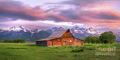 Photograph - The Moulton Barn On Mormon Row by Ronda Kimbrow