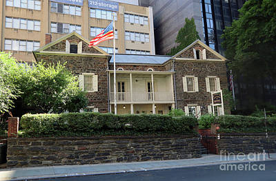 Photograph - The Mount Vernon Hotel Museum  Formerly The Abigail Adams Smith Museum by Steven Spak