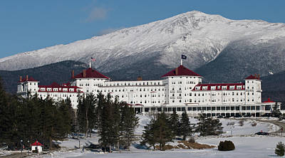 The Mount Washington Hotel Art Print