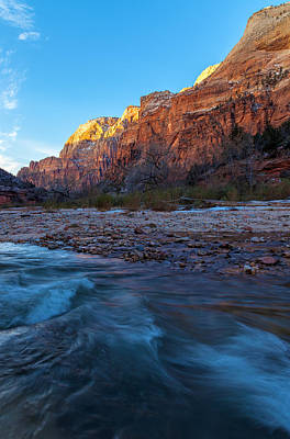 Photograph - The Mountain And The  River by Jonathan Nguyen