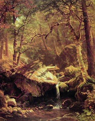 The Mountain Brook Art Print