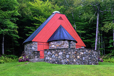 Photograph - The Mountain Chapel by Sherman Perry