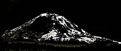 Photograph - The Mountain by Perry Frantzman