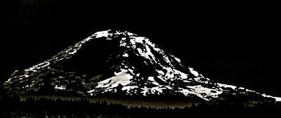 Photograph - The Mountain by Perry Frantzman