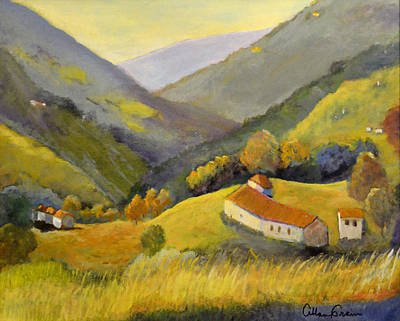 Painting - Northern Italy  by Allan Crain
