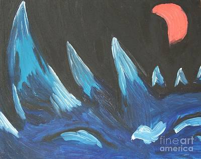 Painting - The Mountains Are Screaming For Me by Travis Dosser