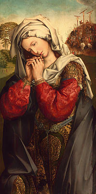 Christian Artwork Painting - The Mourning Mary Magdalene by Mountain Dreams