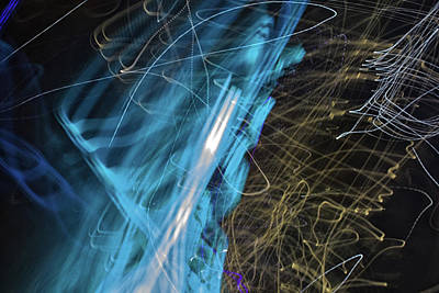Abstract Skyline Rights Managed Images - The Movement of Light Royalty-Free Image by Martin Newman