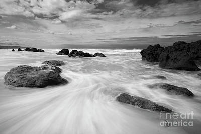 The Movement Of The Waves Art Print
