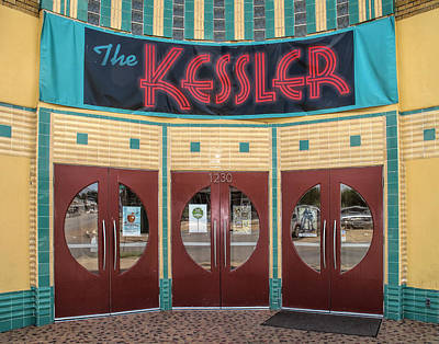 Photograph - The Movie Theater by David and Carol Kelly