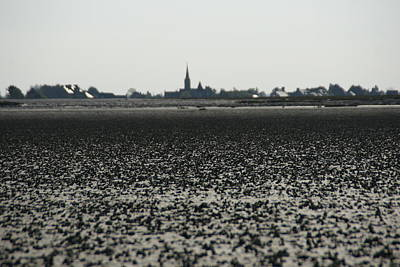 Photograph - The Mud Flats At Viviers Sur Mer by Brandy Herren