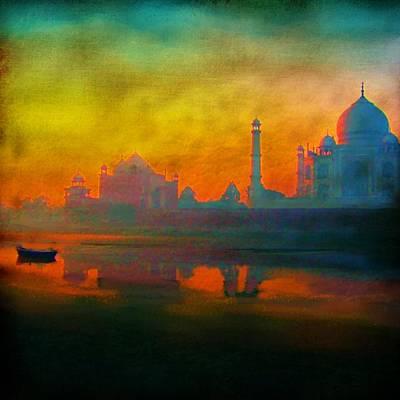 Taj Mahal Painting - The Mughals  by Seema Sayyidah
