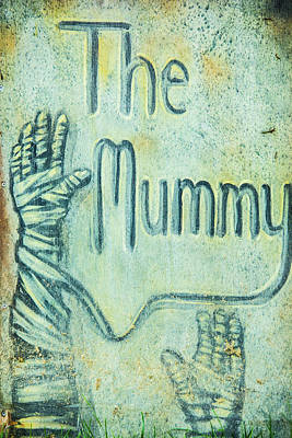 Photograph - The Mummy by Pamela Williams