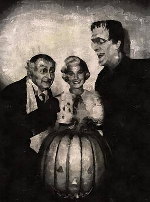 The Munsters Art Print by Mary Bassett