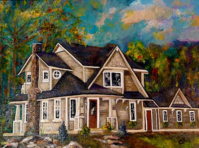 Painting - The Murray House by Claire Bull