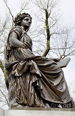 Photograph - The Muse Of History by Staci Bigelow